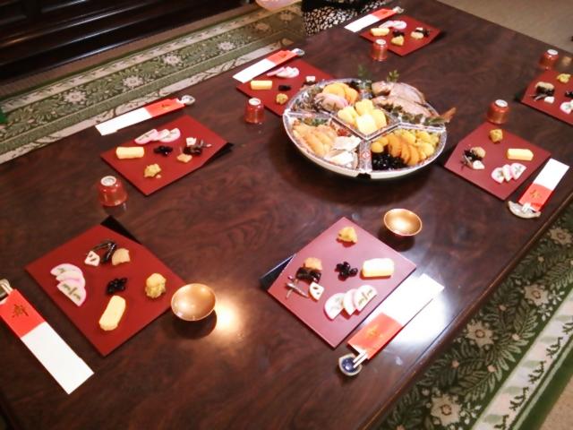 我が家の食卓140106